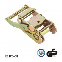 1.5 inch 2T steel handle ratchet buckle for ratchet tie down
