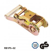1.5 Inch 3T heavy duty ratchet buckle cabo de alumínio