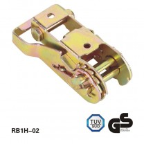 28mm 1500kg Steel handle Tightening Ratchet buckle