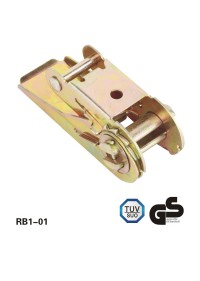 1Polegada de 800 kg steel ratchet buckle
