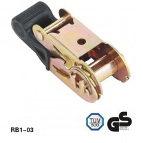 27Mm 800 kg de plástico BORRACHA ratchet buckle