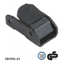 1 1/4 inch Black Steel Cam Locking Buckle For Tie Down