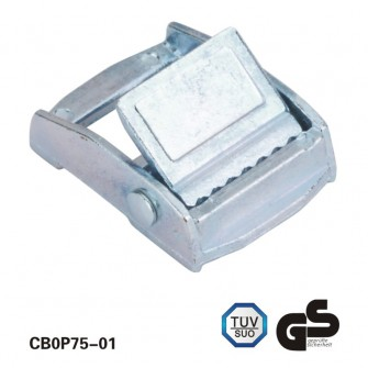 3/4 inch White Zinc Cam Buckle For Nylon Straps
