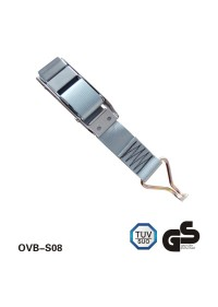 l'acciaio inossidabile van curtainsider overcenter buckle