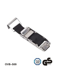 Stainless steel Curtain Buckle Strap with flat hook