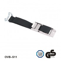Curtain Buckle Strap with close rave hook