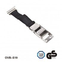 S.S 304 Over-center Buckle Strap lashing strap ,tie down