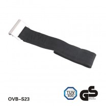 85cm 800kg polyester bottom strap with flat hook