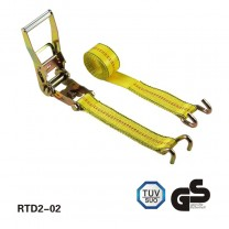 2 inch×10M BS 5T Ratchet Tie Down with claw hooks