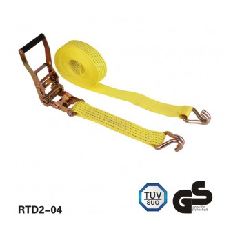 2 inch×9M BS:4500kg Ratchet Tie Down lashing cargo strap
