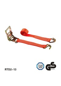 2 - * 4 laden binder ratchet riemen mit double j - haken