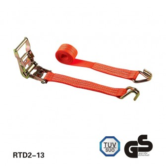 2 inch 2T 4M Load Binder Ratchet strap with double J hooks