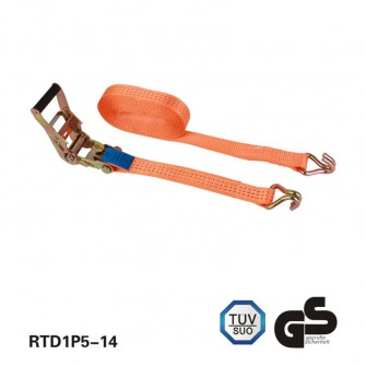 1.5 - met de auto van goederen tie-downs inch ratchet controlesysteem