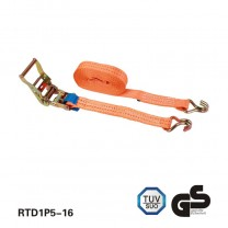 1.5 inch 2T 6M truck type Ratchet lashing with GS standard