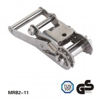2 inch Stainless steel 304 Ratchet Buckle 3 Ton Breaking Strength