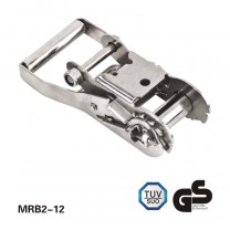 2 inch stainless steel handle rachet buckle/load tie down