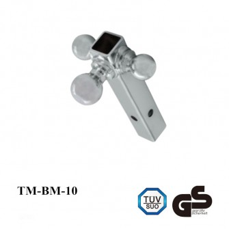 3 Chrome Multi-Ball Trailer Hitch Ball Góra