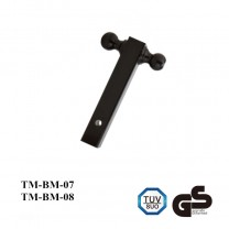 Dual Ball Mount - 8 inch Long - 1-7/8  inch & 2  inch Balls