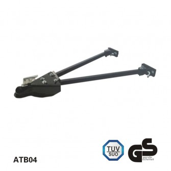 2 inch×26-41inch 5000lbs Adjustable Towing Bar for trucks