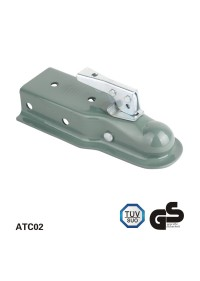3,500 Lbs direto reboque engates, Zinc - plating finish