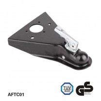 5000lbs A-Frame Trailer Coupler Black E-coating finish
