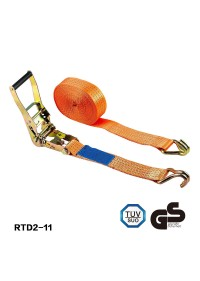 Ratchet Strap with J-Hook  Breaking Strength 6600lbs